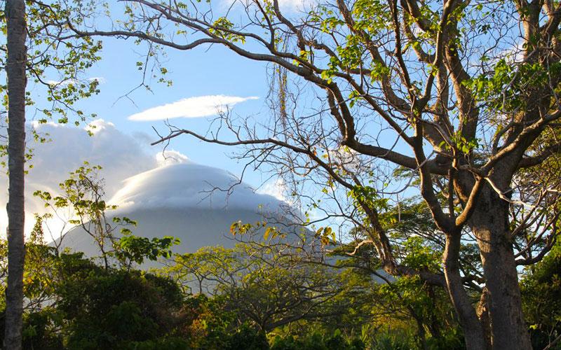 Smokey Volcano