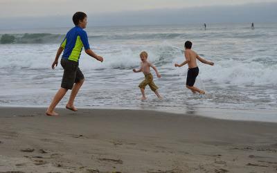 Ocean Fun : Northern California Coast