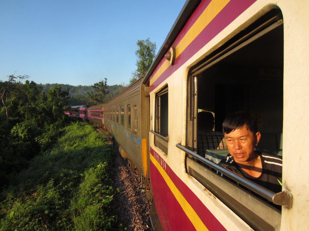 Bangkok-Chiang Mai train