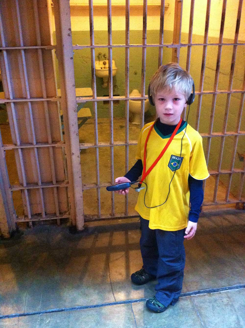 Sawyer in Alcatraz