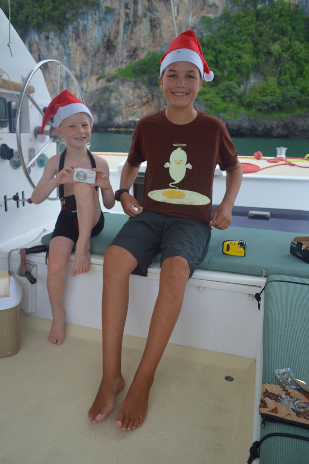 Christmas on the boat