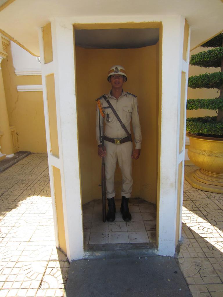 Royal Palace guard.