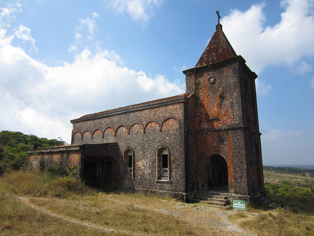 Bokor Hill Station Church