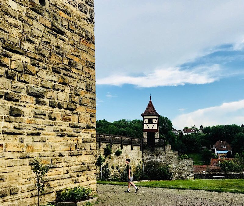 Castles, Southern Germany Countryside.